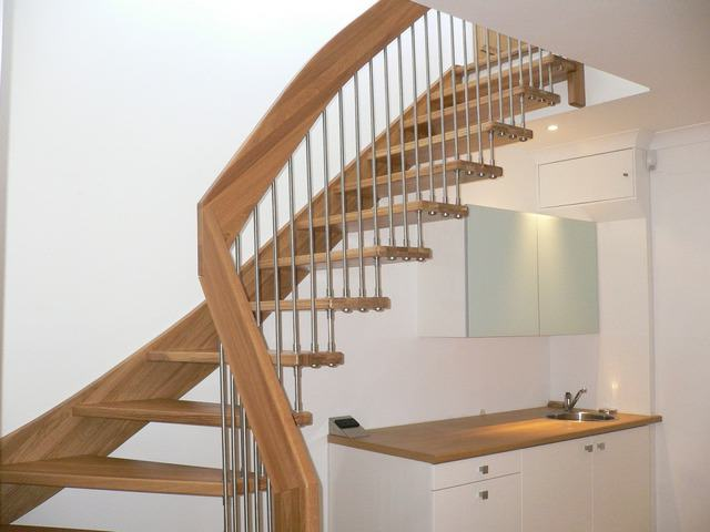Home design stairs example.