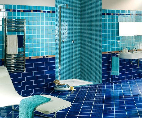 Light Blue Bathroom Ideas in USA