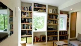 Modern USA design of home mini library- photo №2