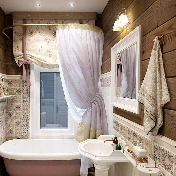 Country Bathroom in USA: peculiar features