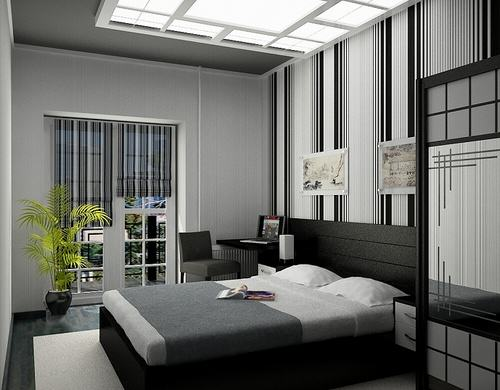 Modern style for male small bedroom