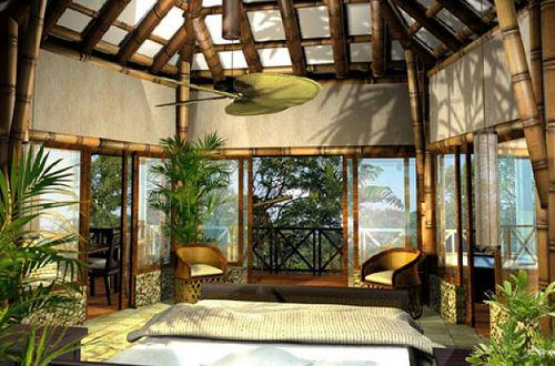 Bedroom tropical style