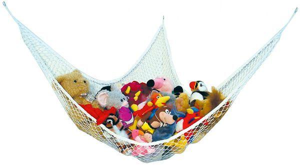 A hammock for toys