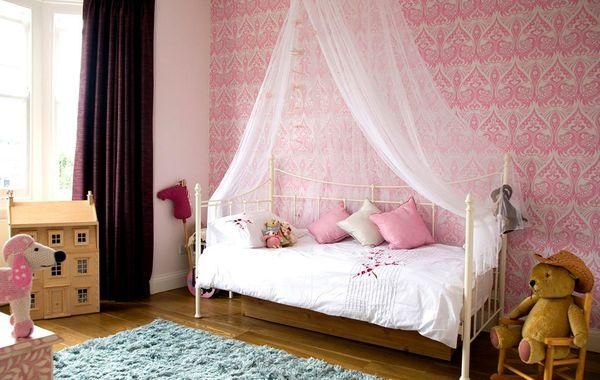 Rococo design style for a girl's room in USA